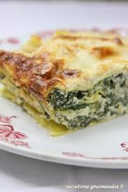 cuisiner des blettes fraiches variations gourmandes lasagnes aux blettes ricotta parmesan et