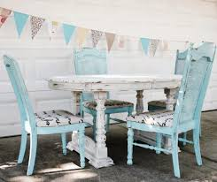 amazing shabby chic dining room ideas round greenish end table and