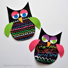 Black Color Of The Owl Makes This A Colorful Craft For Kids That You Will Proudly Want To Display In Your Home And Treasure As Keepsake Years