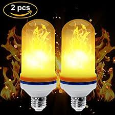 led effect light bulbs creative lights with flickering