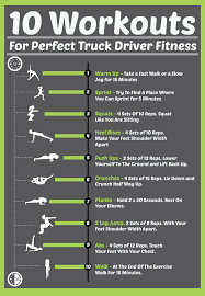 100 How Much A Truck Driver Make INFOGRPHIC 10 Workouts For Perfect Fitness Fueloyal