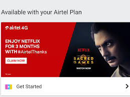 Airtel Netflix Subscription Offer: Airtel Offering Free 3 ... Here Is How You Can Get Ullu App Free Redeem Code 2019 How To Get Netflix For Free Month Promo 2018 Store Deals 100 Working Free In Watch Unlimited Codes New Discounts Altsrip On Twitter Coupon Code Back19 15 Off Users Receive Convclooking Scam Email Designed Sony India Promo Netflix Cheapest Otterbox Everything Coming To Stan Foxtel And Amazon This Coupon Redbox Codes Plus Tips More Update Mom