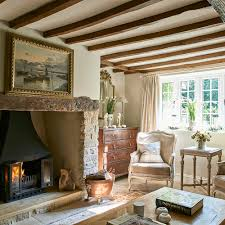Country French Style Living Rooms by French Regency Decor In A Country Wiltshire Cottage English