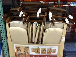 Meco Padded Folding Chairs by Outstanding Stakmore Solid Wood Folding Chair With Padding Seat
