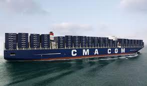 le plus gros porte conteneurs du monde va entrer en service mer