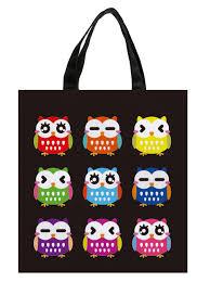 Cute Owl Car Floor Mats by Aliexpress Com Buy Black Colorful Cute Owl Expressive Print