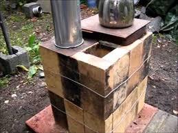 Photo Of Brick Ideas by Rocket Stove Ideas 33 Brick Box Rocket Stove