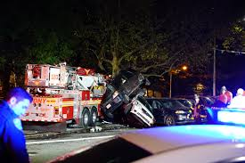 100 Fire Truck Accident FDNY Fire Truck Crashes Into Parked Cars In A Serious Accident In
