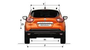 dimensions captur véhicules particuliers véhicules renault