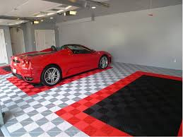 garage ceramic tile garage floor floors and cabinets