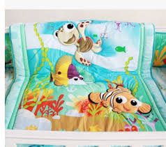 baby boy 7 piece crib bedding set fish and friends finding nemo