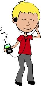 Listening To Music Ipod Clipart clipartsgram