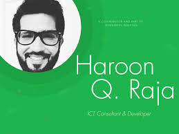 WP PK Story 3 Meet Haroon Q Raja — ICT Consultant & Developer