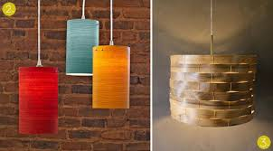 my own diy brass wire cage light with wood ikea bracket great