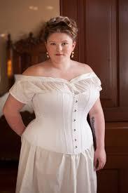 1880 u0027s victorian corset in plus sizes steel boned