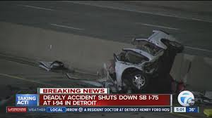 Deadly Crash Shuts Down I-75 Southbound At I-94 In Detroit - YouTube Ocala Post Fatal Crash On I75 Leaves Two Dead And One Critically In Lexington Reopens After Semi Sthbound I94 Ramps Reopen Allday Closure Crains Car Loses Control Hits Rolls Over Detroit Youtube Tanker Semi Truck Overturns Causing Hwy 75 Traffic To Be Detoured Update I70 Henry County Fatal Local News Accident South Ga 2018 Deadly Mcminn Wtvc One Injured Accident Tiftongazettecom Michigan On I44 Best Florida Highway Patrol Crash Log