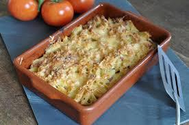 recette gratin de pâtes