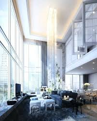 Chandelier For High Ceiling Living Room Modern Grand Classic By Incredible