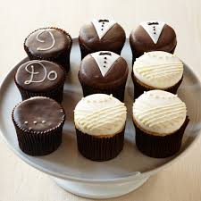 MoreR Wedding Cupcakes Set Of 9