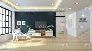 modernen minimalistischen wohnzimmer design weiße sessel auf grüne wand und fußboden aus holz 3drendering stockfoto und mehr bilder architektur
