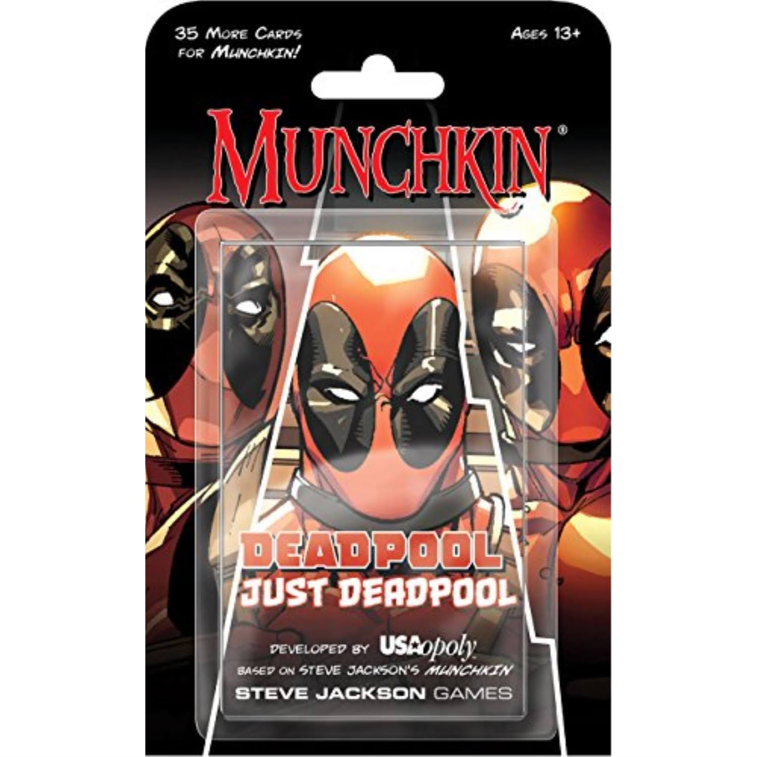 Munchkin Deadpool Just Deadpool Party Card Game
