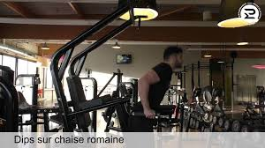 chaise romaine fitness doctor tower pro dips sur chaise romaine