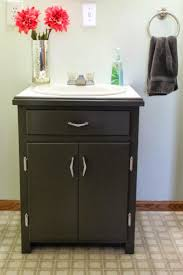 Narrow White Bathroom Floor Cabinet by Best 25 Black Bathroom Floor Ideas On Pinterest Powder Room