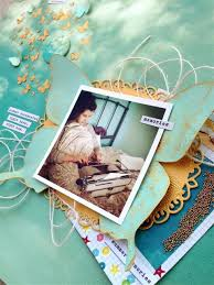 Viva Decor Inka Gold Turquoise by A Dreamy Layout With Viva Decor Inka Gold U2013 Kelly Creates