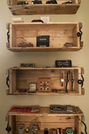 Wood Crate Shelf Diy by 60 Best Pallet Able Design Images On Pinterest Projects Wood