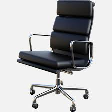 Herman Miller Eames Soft Pad Executive Chair by Herman Miller 3d Models Renderhub