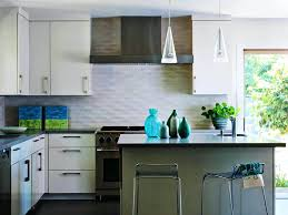 wavy glass tile backsplash glass tile inexpensive kitchen ideas of