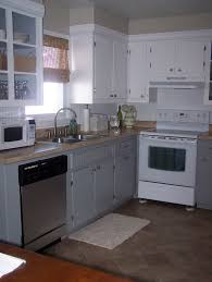 Kitchen Soffit Painting Ideas by Grace Lee Cottage Updating Old Kitchen Cabinets