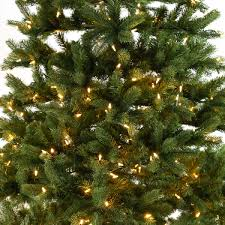 Longest Lasting Artificial Christmas Tree by Pre Lit Green North Valley Spruce Artificial Christmas Tree