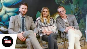 Ask Marvel Chris Evans Elizabeth Olsen Paul Bettany Marvels Captain America Civil War
