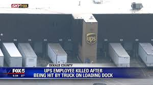 100 Ups Truck Accident Deadly Accident At UPS Loading Dock YouTube