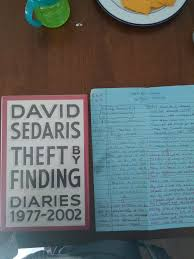 Five Things I Learned From Theft By Finding David Sedaris One That Diaries