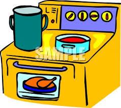 Yellow Kitchen Range