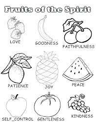 Fruit Coloring Pages Games Printable For Kids Of Fruits Plants Free And