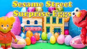 Daniel Tiger Pumpkin by Surprise Eggs Pbs Sesame Street Daniel Tiger Cailou Curious