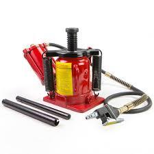 100 Truck Jacks Material Handling 20T Ton Air Hydraulic Bottle Jack 40000lb