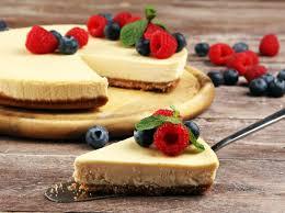 rezept luftiger schmandkuchen mit apfelmus pudding