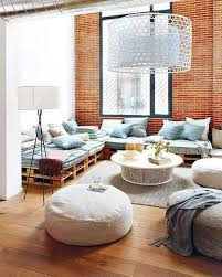 Modern Living Room With Bean Bags Coma Frique Studio 538584d1776b