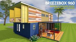 100 Shipping Container Homes Floor Plans Prefab Design With House And Pictures BREEZEBOX 960