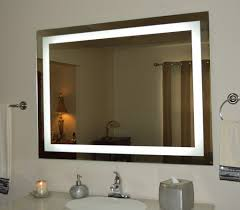 lighting bathroom mirror bronze colored washbasin wide