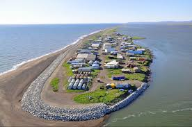 Sinking Islands Global Warming by 400 Alaskan Villagers Are Set To Be The U S U0027s First Climate