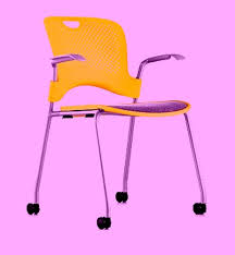 Herman Miller Caper Chair Colors by Caster Kit For Herman Miller Caper Chair Conversion To Rolling