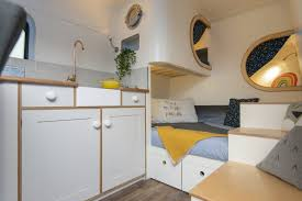 100 House Van Cozy Camper Van Feels More Like A Tiny House Than An RV Curbed