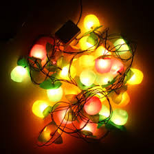 New Pattern Christmas Decorations LED Fruit Lights String Safety Controllers Tree Pendants Styling