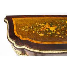 Tool Box Side Cabinet Nz by Antique French Amboyna U0026 Floral Marquetry Side Cabinet C 1850 C