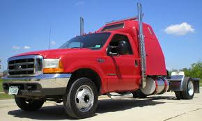 1999 Ford F550 Super Duty Hotshot Tractor With Sleeper